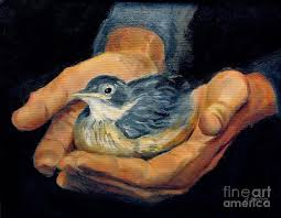his eye is on the sparrow painting by winters