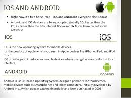 difference between iphone and android ios vs android