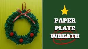 paper plate wreath crafts choice image craft decoration ideas