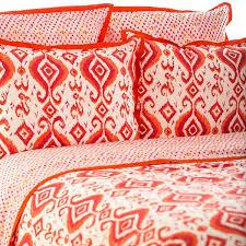 yd devina collection organic cotton block print duvet covers u0026 shams