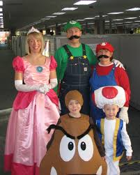 mario brothers halloween costumes what i made today tutorial princess peach holidays ideas