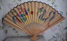 oriental fan wall hanging oriental wall hanging ebay