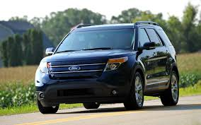 Ford Explorer Green - 2012 ford explorer limited 4wd editors u0027 notebook automobile