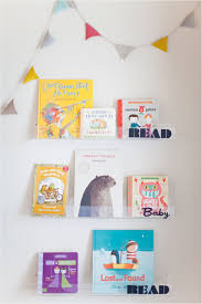diy clear nursery shelves read baby read this little street
