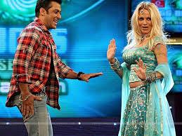Hous Salman Khan Y Pamela Anderson On La Sets De Grandeg Boss Hous