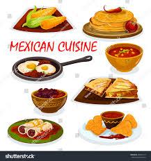 cuisine salsa cuisine burrito tortillas nacho icon stock vector