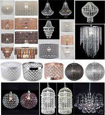 Beaded Pendant Light Shade Brass Ceiling Lights And Chandeliers Ebay