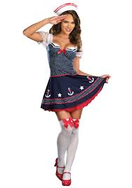 polka dot sailor costume