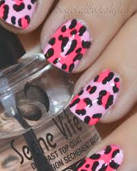 bring on the leopard print nails beyond the polish