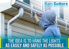 how to hang christmas lights on gutters tips for hanging christmas lights on your gutters