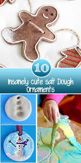 10 insanely salt dough ornaments nifty diys