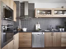 cuisine en bois moderne charmant cuisine bois noir collection avec cuisine bois moderne et