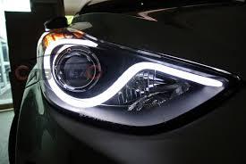 hyundai accent lights hyundai elantra led bar far headlight