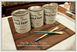 How To Faux Paint Walls From My Front Porch To Yours Diy Faux Brick Wall Tutorial Using