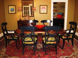 Traditional Wooden Kitchen Chairs by Modern Dining Room Rugs Rectangular Sturdy Varnished Wooden Dining