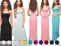 ekinege u0027s strapless maxi dress