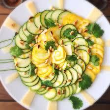 cuisiner des courgettes light recette carpaccio de courgettes light