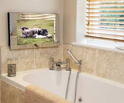 tv in the mirror bathroom bathroom tv s the superior bathroom tv aquatek