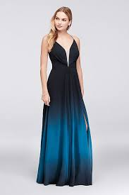 ombre dress ombre chiffon halter a line gown david s bridal
