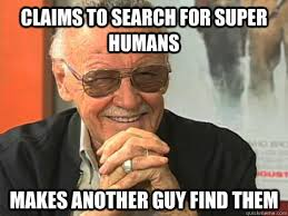 Stan Meme - scumbag stan lee memes quickmeme