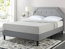 Tufted Platform Bed Amazon Com Zinus Lyon Upholstered Button Tufted Platform Bed With