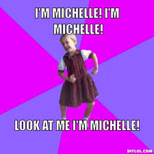 Michelle Meme - who wants to play the meme game life as i know it