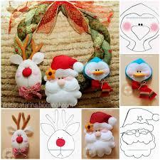 adornos de navidad muñecos pinterest navidad felting and xmas
