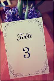 coprinted blog free printable table card
