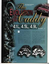 engine info 4 9l cadillac v8 fieroaddiction redux