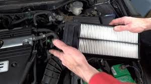 how to change air filter on 2003 2007 honda accord youtube