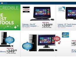best buy releases black friday 2012 preview ad laptop desktop