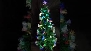 christmas tree fibre optic youtube