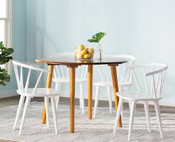 Oak Dining Room Tms Florence 5 Piece Oak Dining Set U0026 Reviews Wayfair
