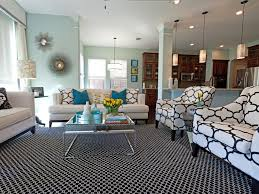Living Room Color Palettes Youve Never Tried HGTV - Blue living room color schemes