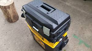 New Tools And Gadgets by Dewalt Multilevel Portable Tool Box Review Works Great Youtube