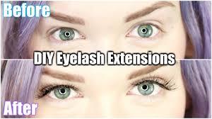 Eyelash Extensions Natural Look Diy 12