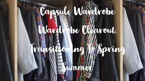 capsule wardrobe tips how to do wardrobe clear out
