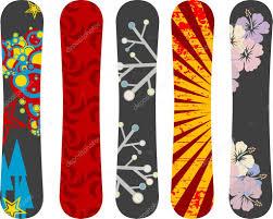 snowboard design snowboard design pack stock vector alexciopata 4325580