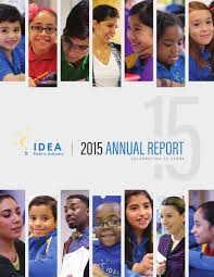 idea public schools annual report 2015 by idea public schools