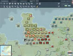 East West Germany Map by Matrix Games Gary Grigsby U0027s War In The West