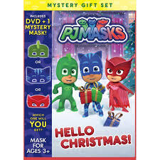 pj masks christmas dvd mask walmart