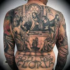 religious back tattoos for men pictures to pin on pinterest