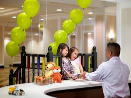 Kids Activity Desk by Family Friendly Hotel With Waterslide Chelsea Hotel Toronto
