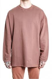 yeezy sweater yeezy season 1 oversized sweatshirt in autograph menswear