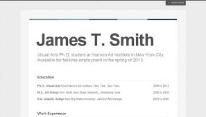 Resume Site Examples by 20 Creative Resume Website Templates To Improve Your Online Presence