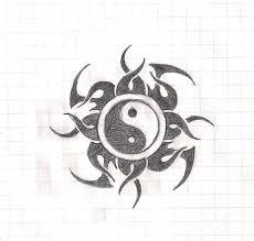 yin yang tribal design by lelandx18 on deviantart