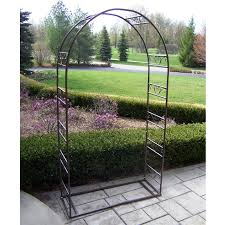 wedding arch for sale oakland living tuscan wedding 7 25 ft iron arch arbor hayneedle