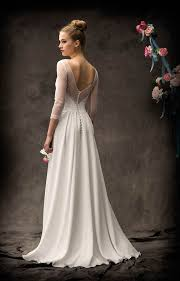 robe de mari e dentelle manche longue robes de mariee createurs et pret a porter costumes mariage a