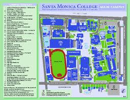 map of santa santa cus map 1900 pico blvd santa ca