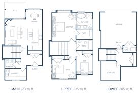 kelowna townhome floorplans deerhurst estates